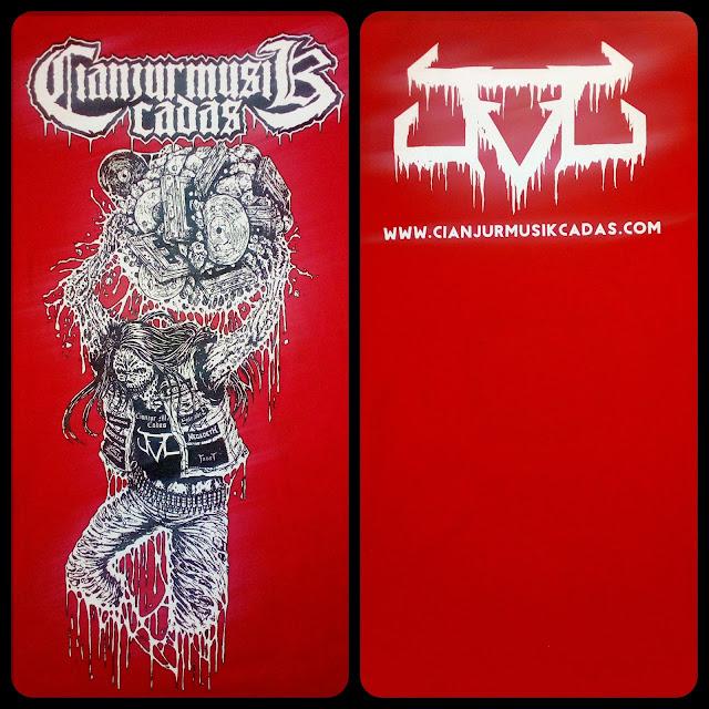 "Available Now : T-shirt Cianjur Musik Cadas - ""O.P.R.A.R #2"" / Kaos Cianjur Musik"