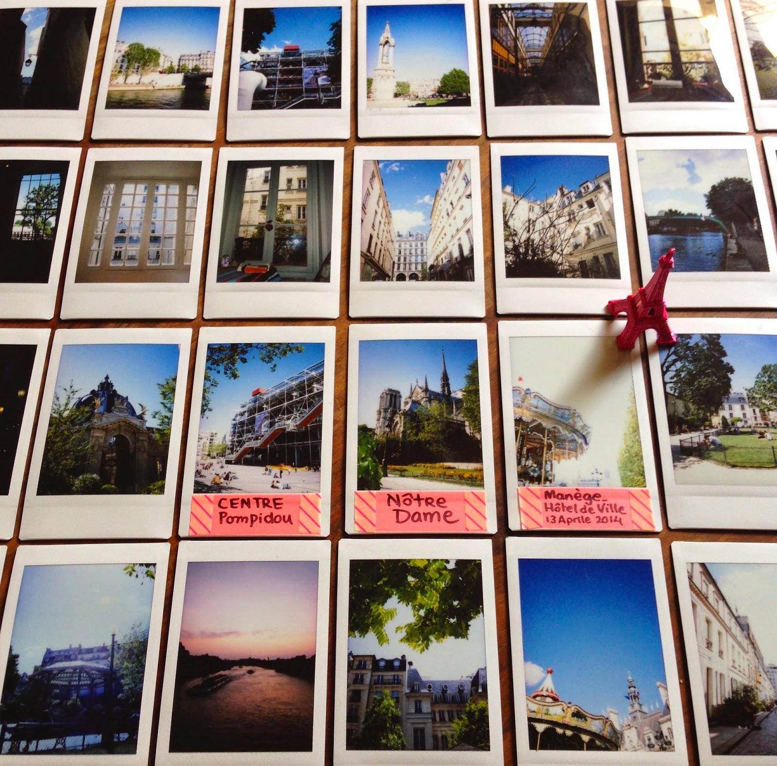 La Instax Mini 8 a Parigi, j'adore! - foto di Elisa Chisana Hoshi