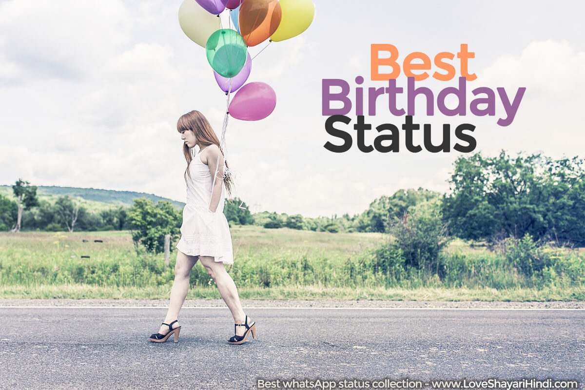 Whatsapp Birthday Status in English