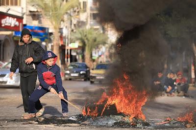 اشتباكات مع جيش الاحتلال في فلسطين