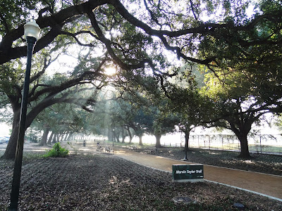 Marvin Taylor Exercise Trail at Hermann Park Golf Course
