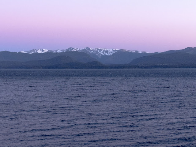 Sunrise over Bariloche Argentina