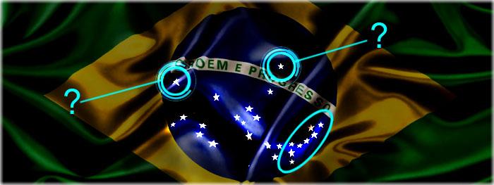 significado das estrelas bandeira do Brasil