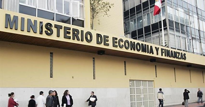 Diversos sectores públicos reciben importante presupuesto del Ministerio de Economía