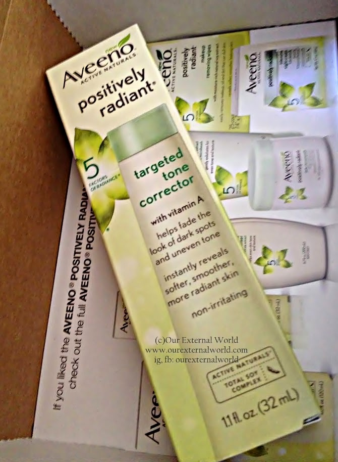 Aveeno® Positively Radiant® Targeted Tone Corrector - Review