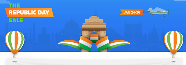 Flipkart Republic Day Sale 2017 Best Deal on Smartphones