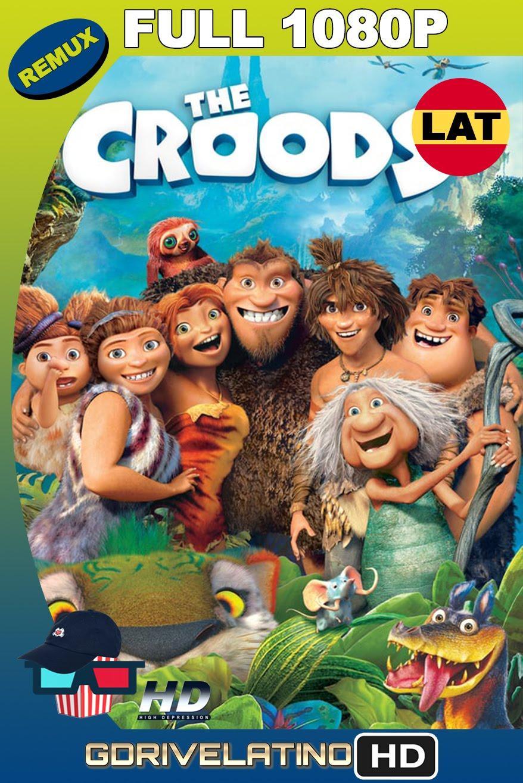 The Croods (2013) REMUX FULL 1080p Latino-Inglés MKV