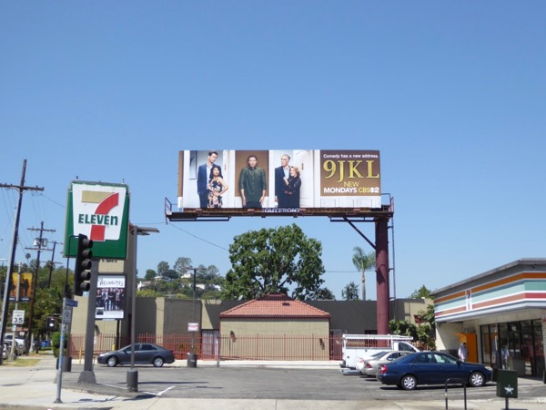 9JKL CBS sitcom billboard