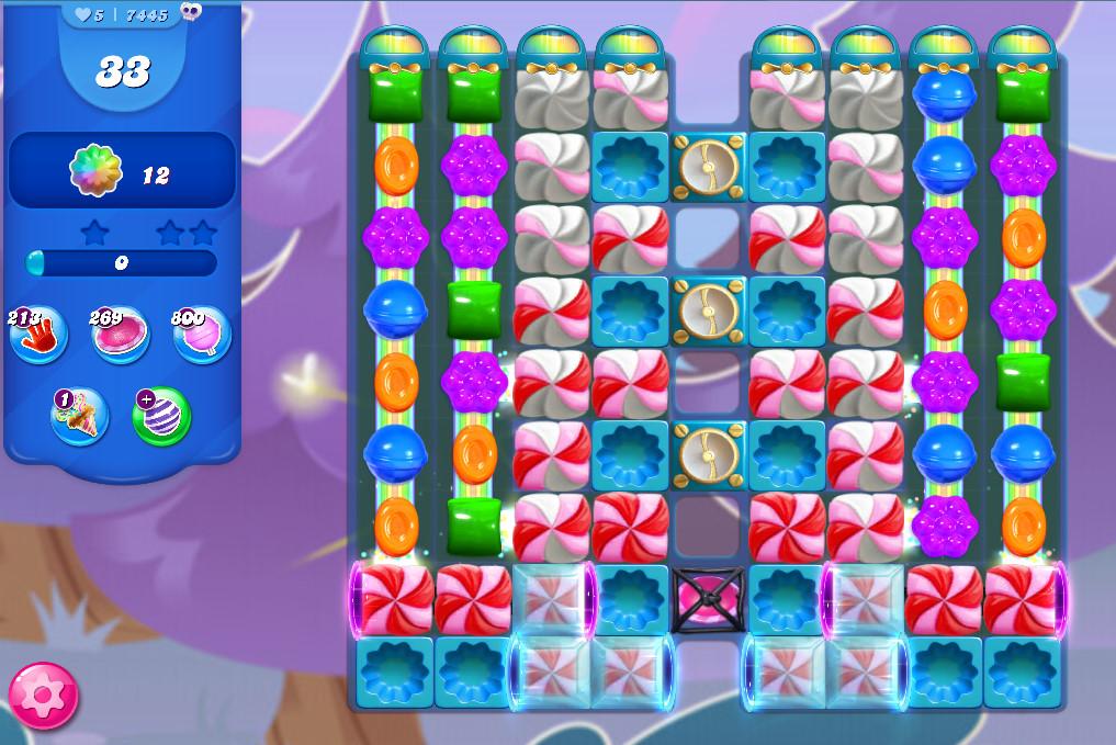 Candy Crush Saga level 7445