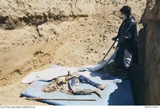 Exhumation of victims of the Indonesian genocide in East Timor