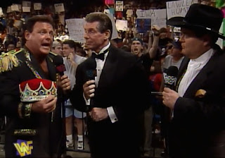 WWE / WWF - Ground Zero: In Your House 17 - Jerry Lawler, Vince McMahon, and Jim Ross