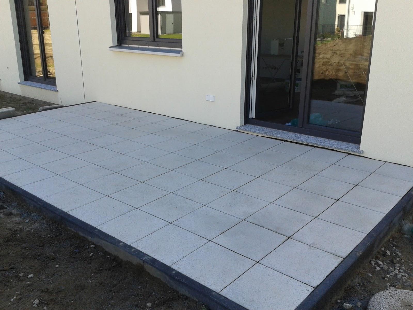 Bautagebuch Unsere Eigenen Vier Wande Die Terrasse Ist Endlich