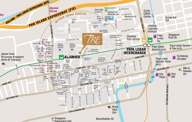 TRE Residences Location