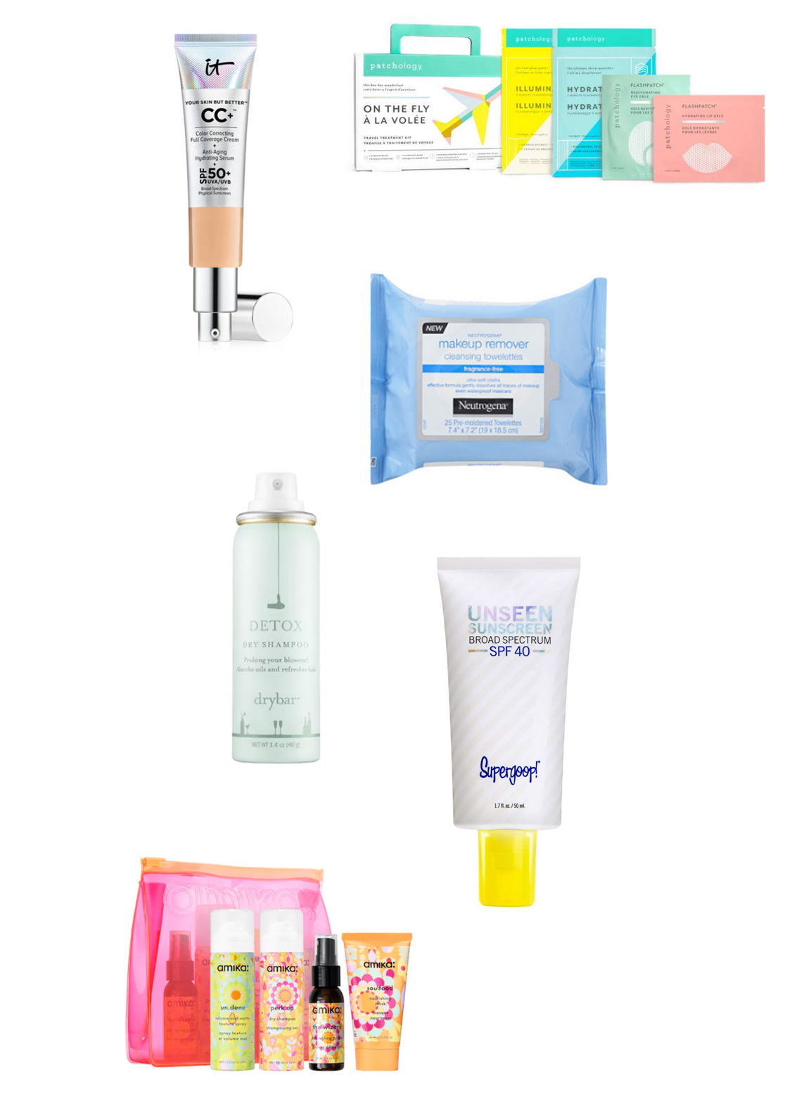 Best Travel Size Beauty Products For Your Carry On featured by popular Colorado style blogger, Leah Behr