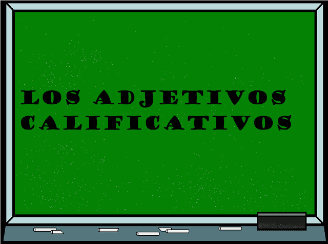 adjetivos calificativos