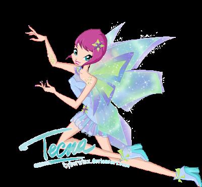 Hình ảnh tiên nữ Winx Tecna xinh đẹp làm hình nền