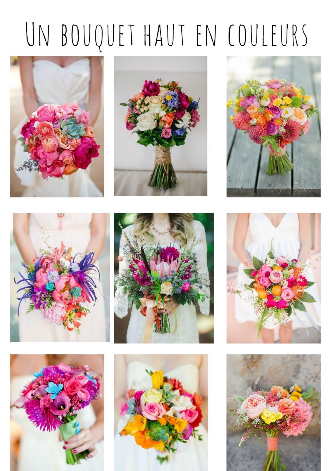 Un bouquet de fleurs haut en couleurs