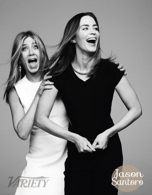 Jennifer Aniston Emily Blunt Actors on Actors