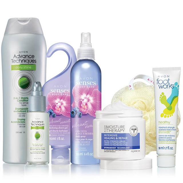 Avon Body Beautiful Regimens Collection
