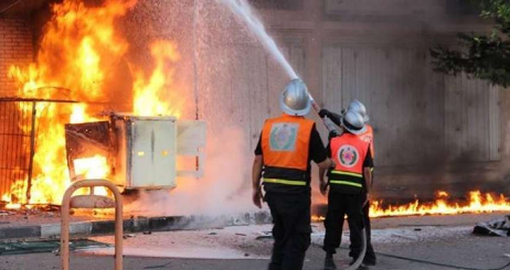 مع اقتراب رأس االسنة اندلاع حريق بملهى ليلي بمراكش يستنفر السلطات الأمنية