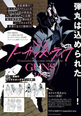 """Manga: Nuevos detalles sobre el anime de """"No Guns Life"""""""