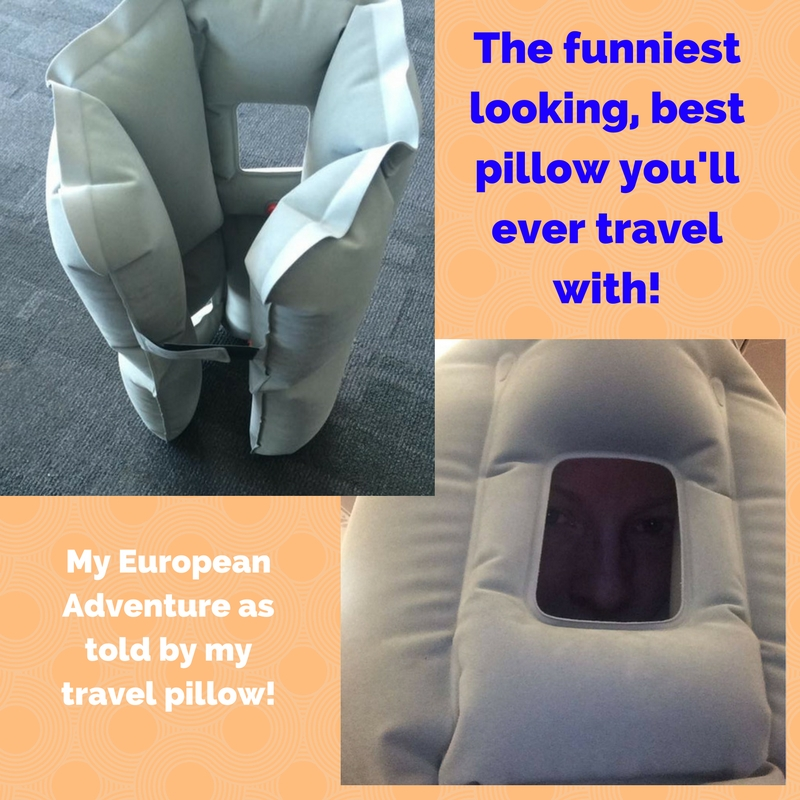 my european adventure as told by my travel pillow
