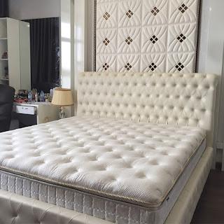 Giường ngủ bọc da cao cấp Bạch Tuyết