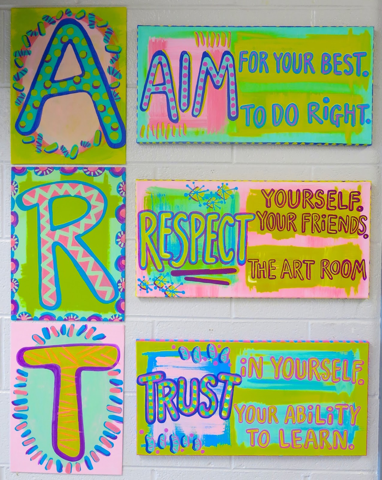 In The Art Room Rules
