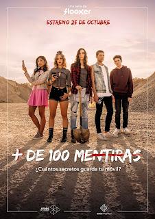 Reparto en la serie juvenil '+ De 100 Mentiras'