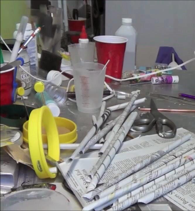 Cara Membuat Tempat Pensil Lucu Dari Koran Bekas Dr Sampah