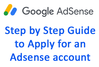How to Apply for an AdSense Account step by step guide