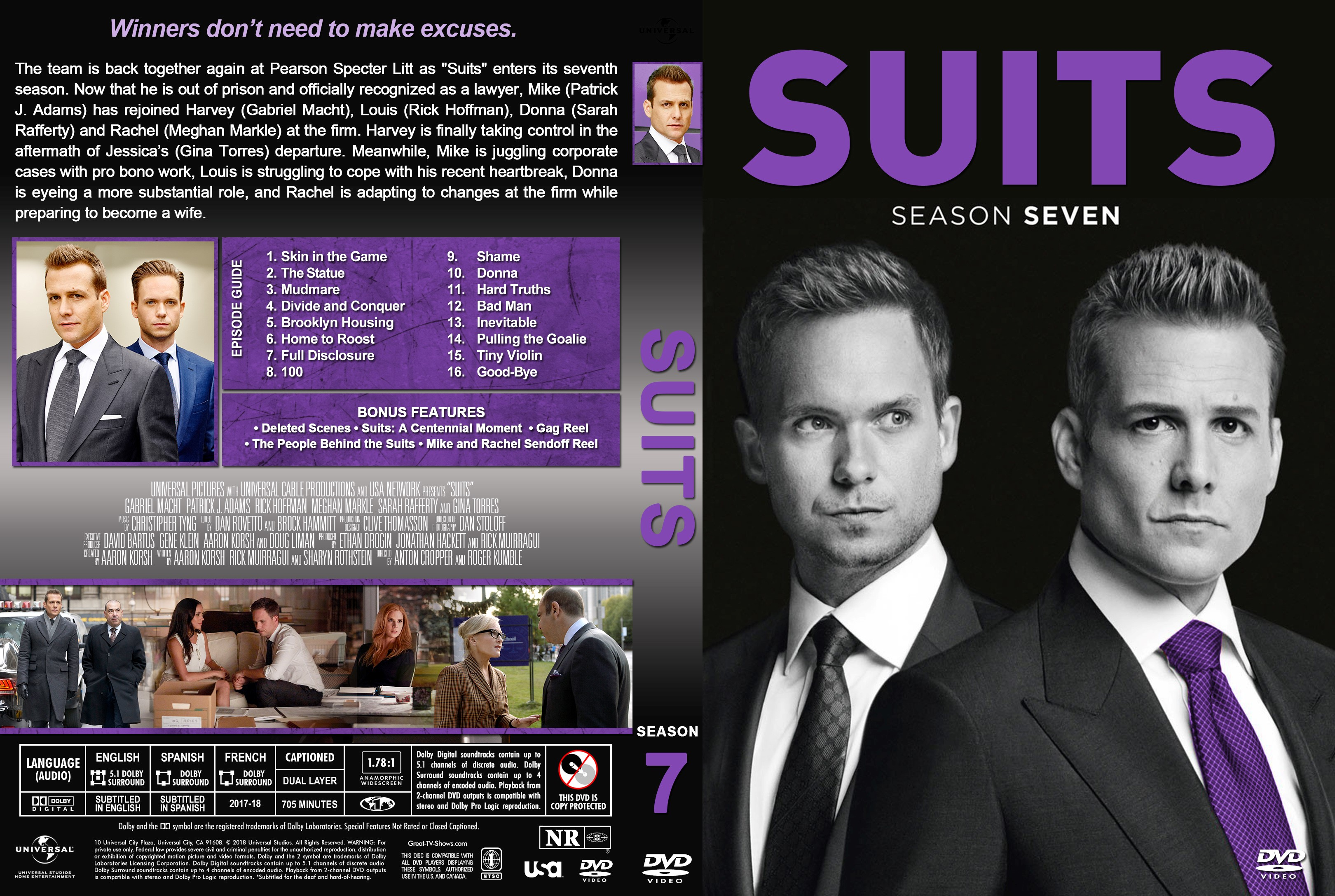 staffel 7 suits