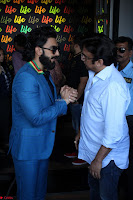 Ranveer Singh in Blue Blazer Spotted Life Bar ~  Exclusive 12.JPG