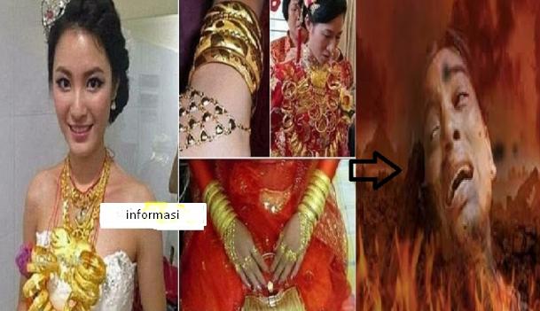 Inilah Ancaman & Azab Bagi Wanita Yang Suka Pamer Perhiasan Dan Harta Kekayaan Di Dunia!!!! (Tolong Sebarkan Info Ini Supaya Bermanfaat Untuk Orang Banyak)
