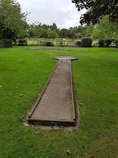 Crazy Golf course at Lowther Gardens in Lytham