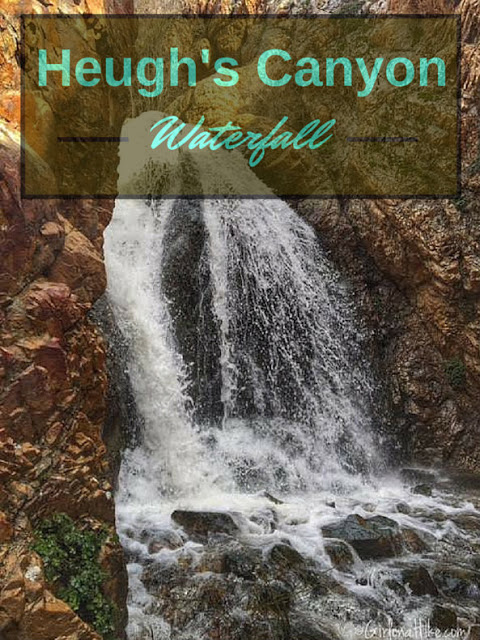 The Best Dog Friendly Waterfalls Hikes in Utah, Heugh's Canyon Waterfall