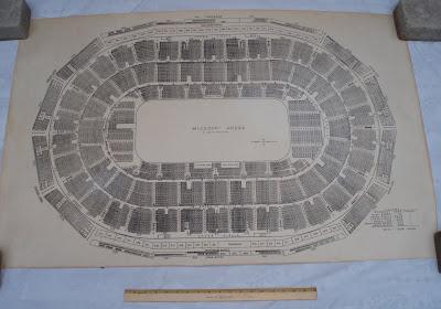 St. Louis Arena seating plan - floor plan