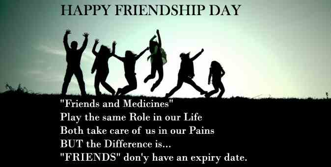Friendship Day Quotes For Friends Group : Happy friendship day the messages quotes sms you won t