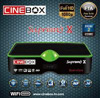 Colocar CS Cinebox%2BSupremo%2BX Atualização Cinebox Supremo X comprar cs