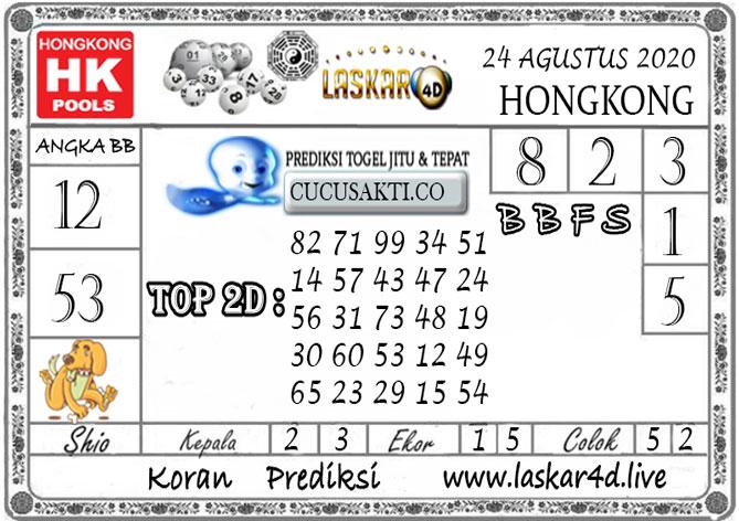 Prediksi Togel HONGKONG LASKAR4D 24 AGUSTUS 2020