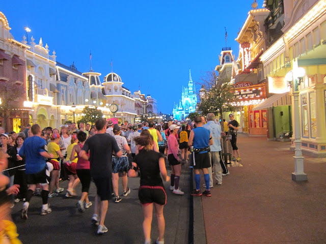 Corrida Meia Maratona Disney no Magic Kingdom