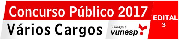 Concurso Público nº 003/2017 da Prefeitura de Barretos/SP - Inscrições de  09/01/2018 à 15/02/2018 na Vunesp