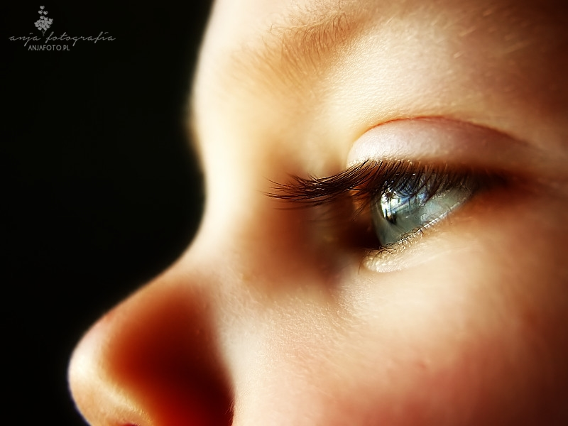 oczy dziecka, fotografia dzięcięca, fotografia dzięcięca łomianki, fotografia dziecięca warszawa