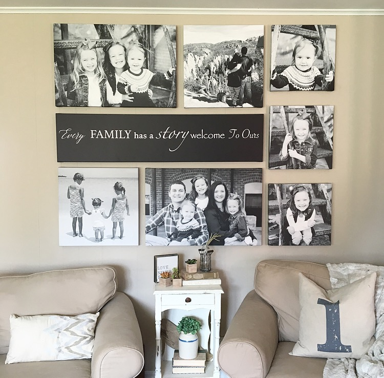 Farmhouse For Five: Canvas Gallery Wall