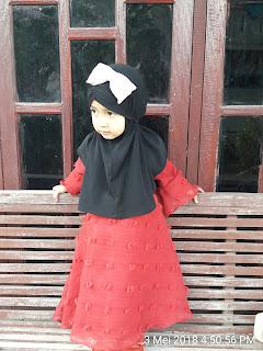 Hifzha Adiba Memasuki Usia 2 Tahun