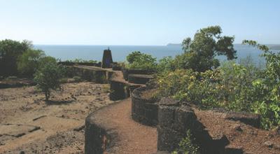 Jaigad fort view