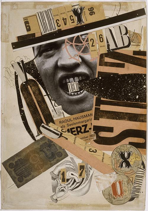 Cartel collage dada