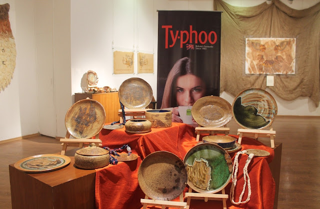 Mythical Flavours From The Past- a tea painting exhibition with Typhoo