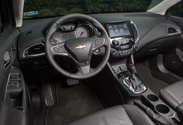 Interior Chevrolet Cruze II LTZ AT