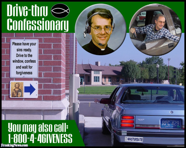 Drive-Thru Confessionary